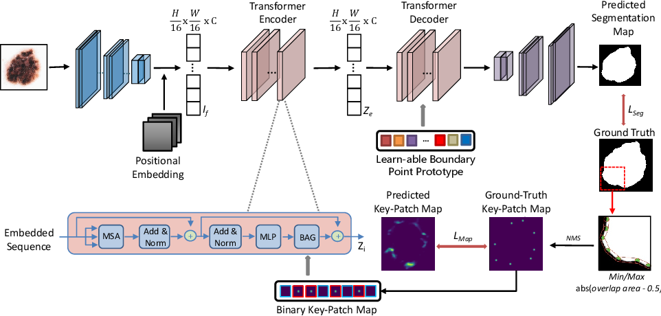 Figure 2 for Boundary-aware Transformers for Skin Lesion Segmentation