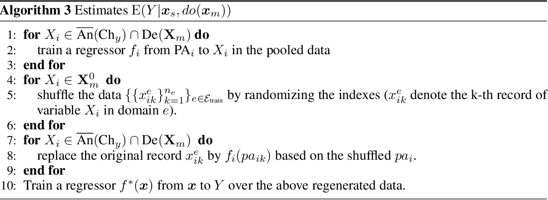 Figure 1 for Causally Invariant Predictor with Shift-Robustness