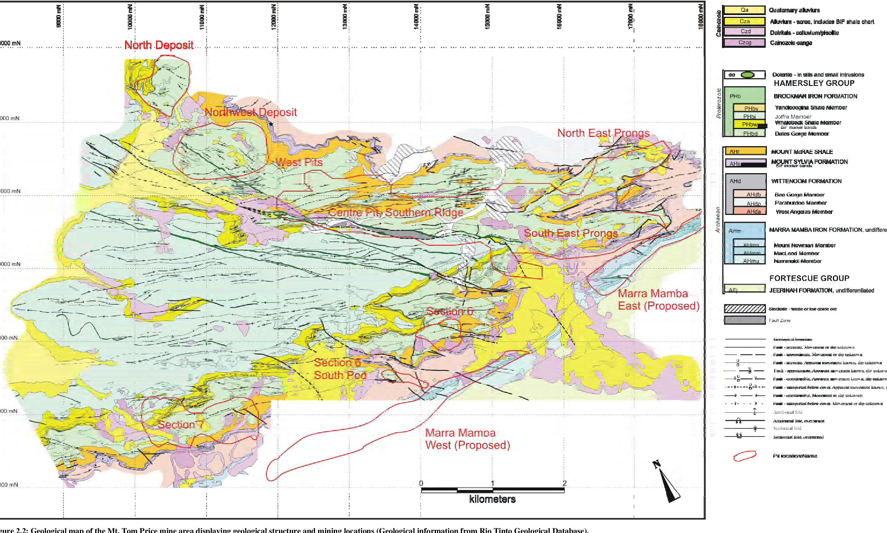 Figure 2 2 from The Hydrogeology and Hydrochemistry of the Mt  Tom