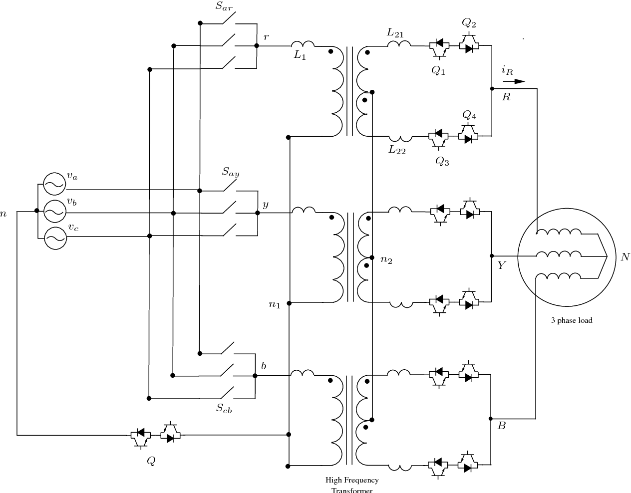 A threephase acac power electronic transformerbased PWM ac drive