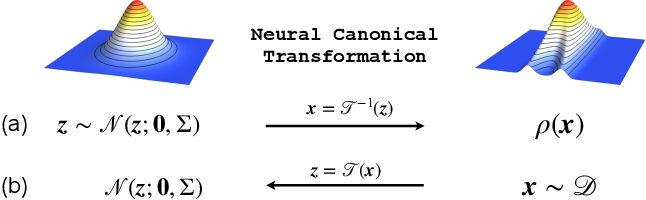 Figure 1 for Neural Canonical Transformation with Symplectic Flows