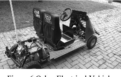 Figure 6 Oskar Electrical Vehicle