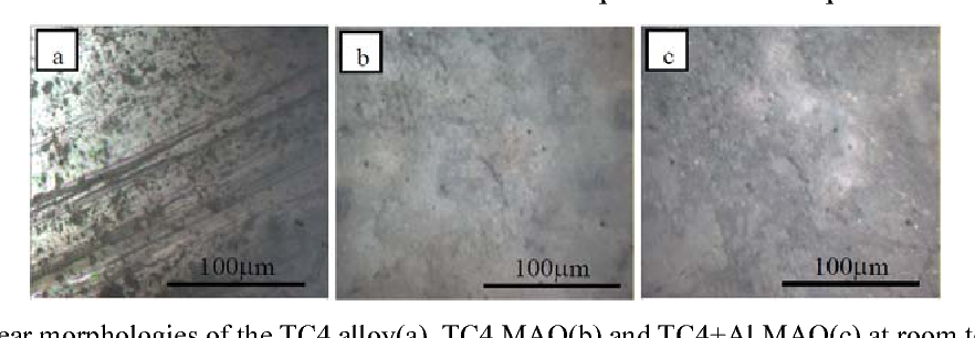 PDF] Tribological Properties of the Micro-arc Oxidation