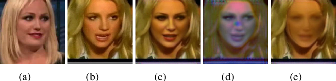 Figure 3 for UniFaceGAN: A Unified Framework for Temporally Consistent Facial Video Editing