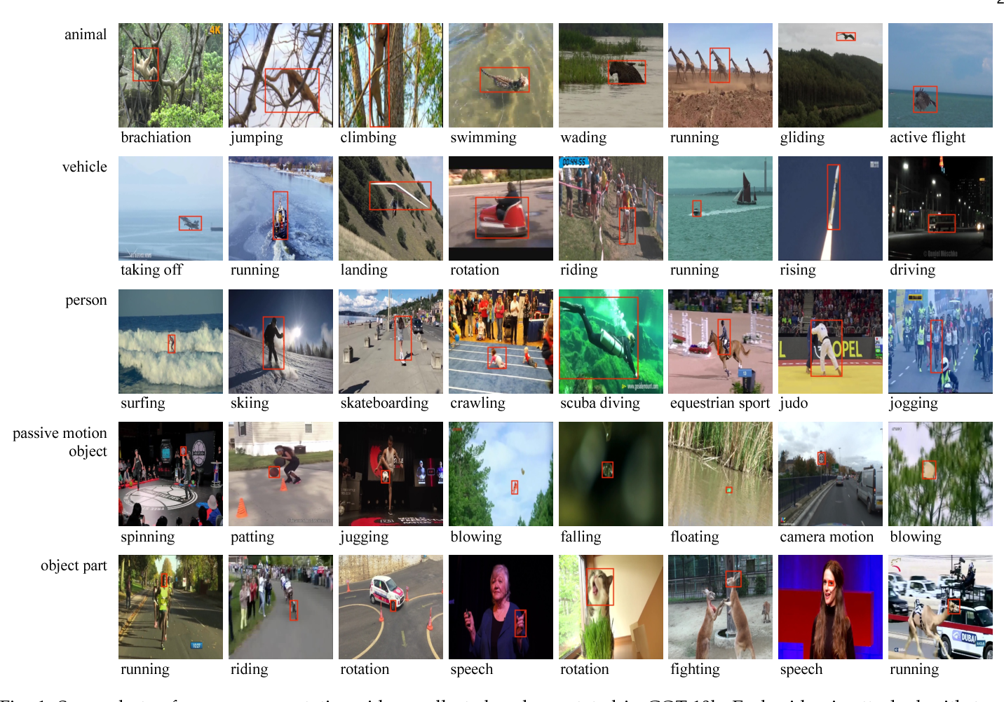 Figure 1 for GOT-10k: A Large High-Diversity Benchmark for Generic Object Tracking in the Wild