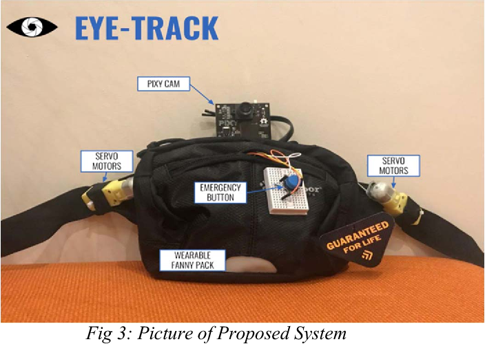 A CMUcam5 Computer Vision Based Arduino Wearable Navigation System
