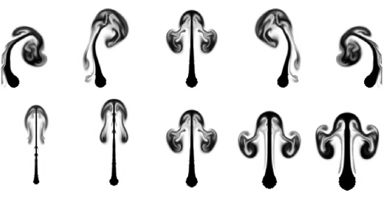 Figure 3 for Deep Fluids: A Generative Network for Parameterized Fluid Simulations
