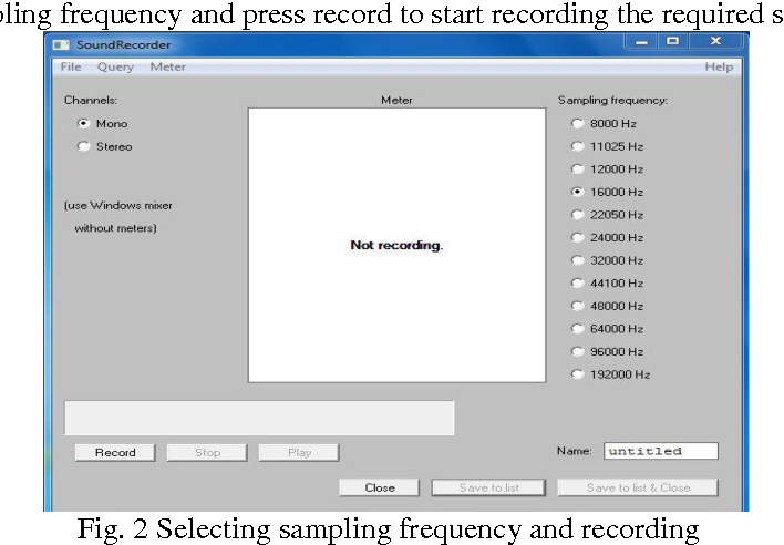 Figure 2 from Development of Speech Database for Hindi Text-To