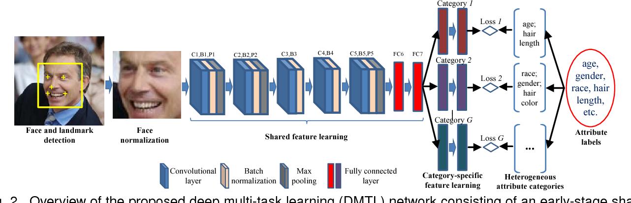 Figure 3 for Heterogeneous Face Attribute Estimation: A Deep Multi-Task Learning Approach