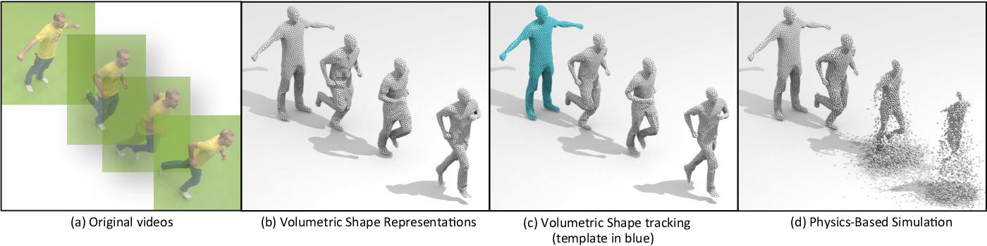 Figure 2 for Shape Animation with Combined Captured and Simulated Dynamics
