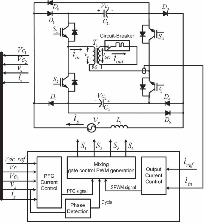 A Novel Single-Phase AC–AC Converter for Circuit Breaker ...