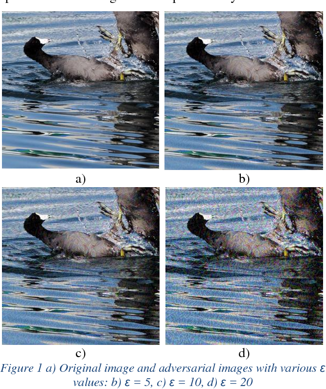 Figure 1 for The Effects of JPEG and JPEG2000 Compression on Attacks using Adversarial Examples