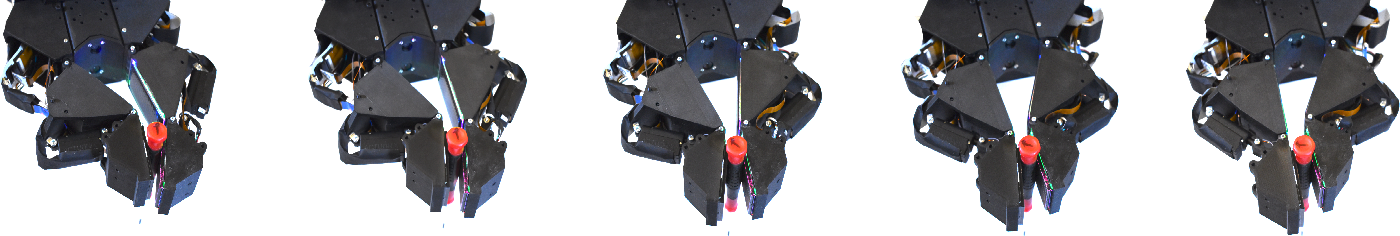 Figure 4 for Design of a Fully Actuated Robotic Hand With Multiple Gelsight Tactile Sensors
