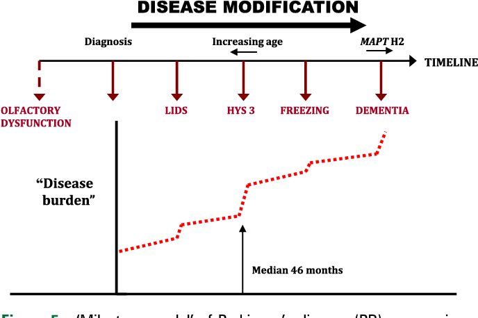 Parkinsons Disease Progression >> Figure 5 From The Natural History Of Treated Parkinson S Disease In