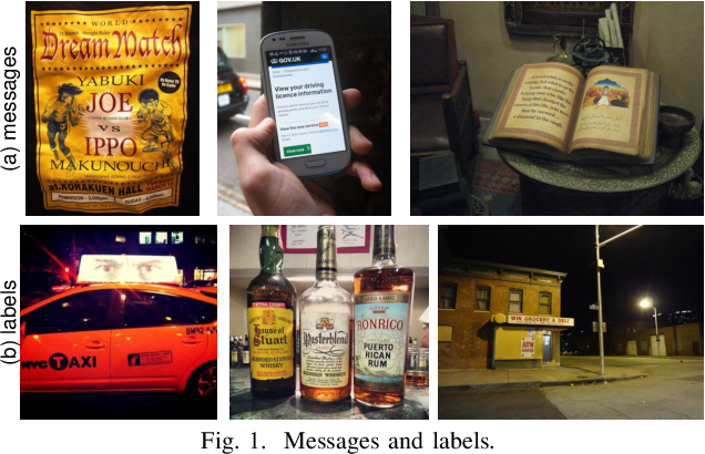 Figure 1 for Label or Message: A Large-Scale Experimental Survey of Texts and Objects Co-Occurrence