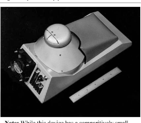 Figure 7 From the University of British Columbia Robotics and Control Laboratory, the six degree of freedom magnetically levitated joystick