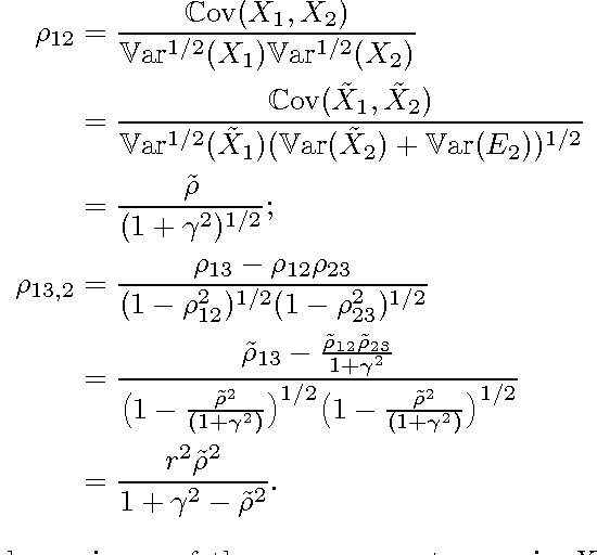 Figure 1 for Causal Discovery in the Presence of Measurement Error: Identifiability Conditions