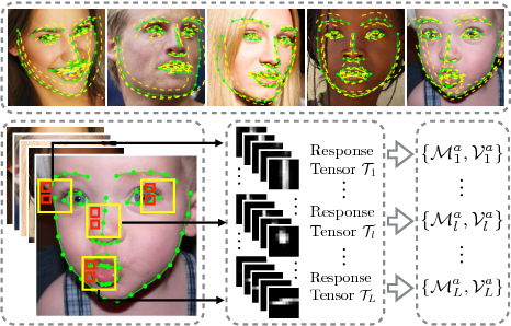 Figure 1 for Track Facial Points in Unconstrained Videos
