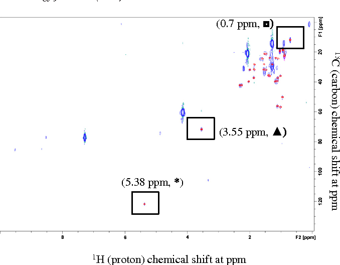 Nuclear Magnetic Resonance (NMR) Study for the Detection and