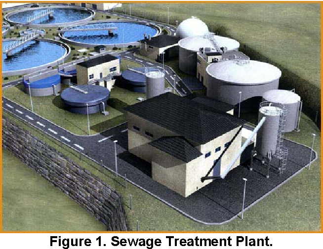 Expert system of a sewage treatment plant for wood industry