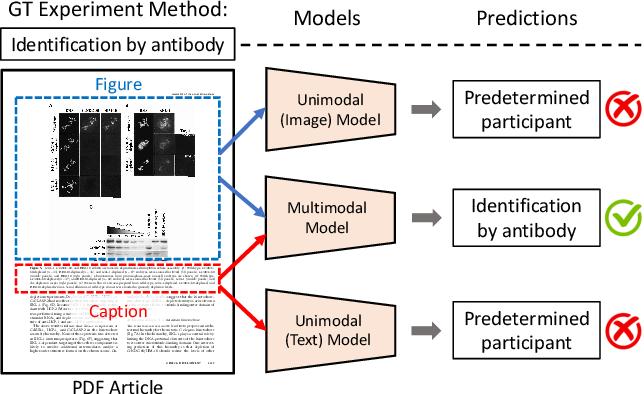 Figure 1 for MELINDA: A Multimodal Dataset for Biomedical Experiment Method Classification
