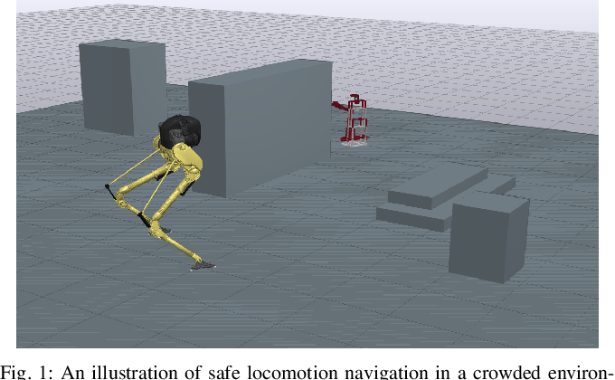 Figure 1 for Towards Safe Locomotion Navigation in Partially Observable Environments with Uneven Terrain