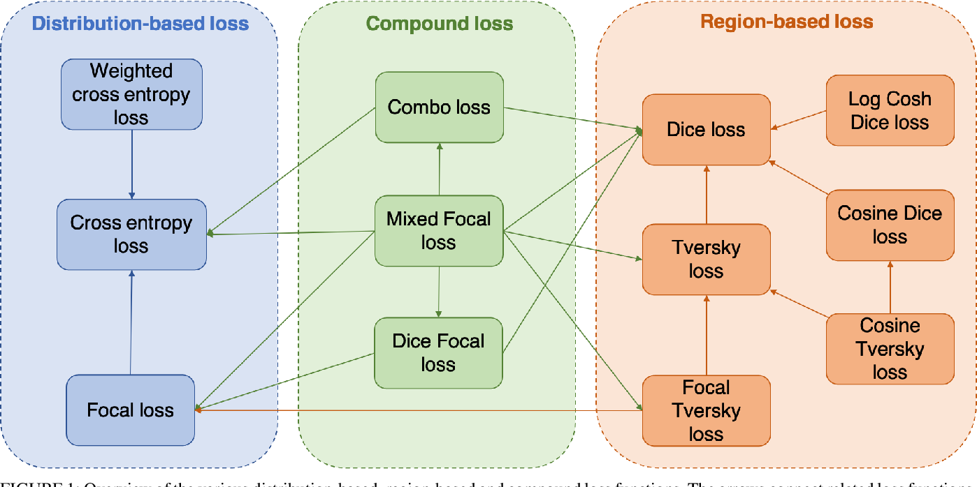 Figure 1 for A Mixed Focal Loss Function for Handling Class Imbalanced Medical Image Segmentation