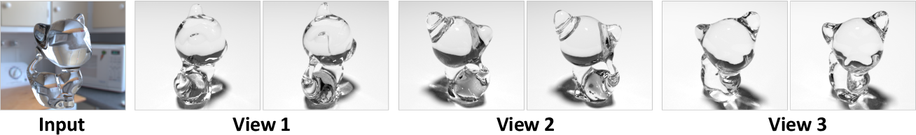 Figure 3 for Through the Looking Glass: Neural 3D Reconstruction of Transparent Shapes