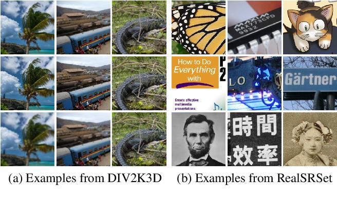 Figure 3 for Designing a Practical Degradation Model for Deep Blind Image Super-Resolution