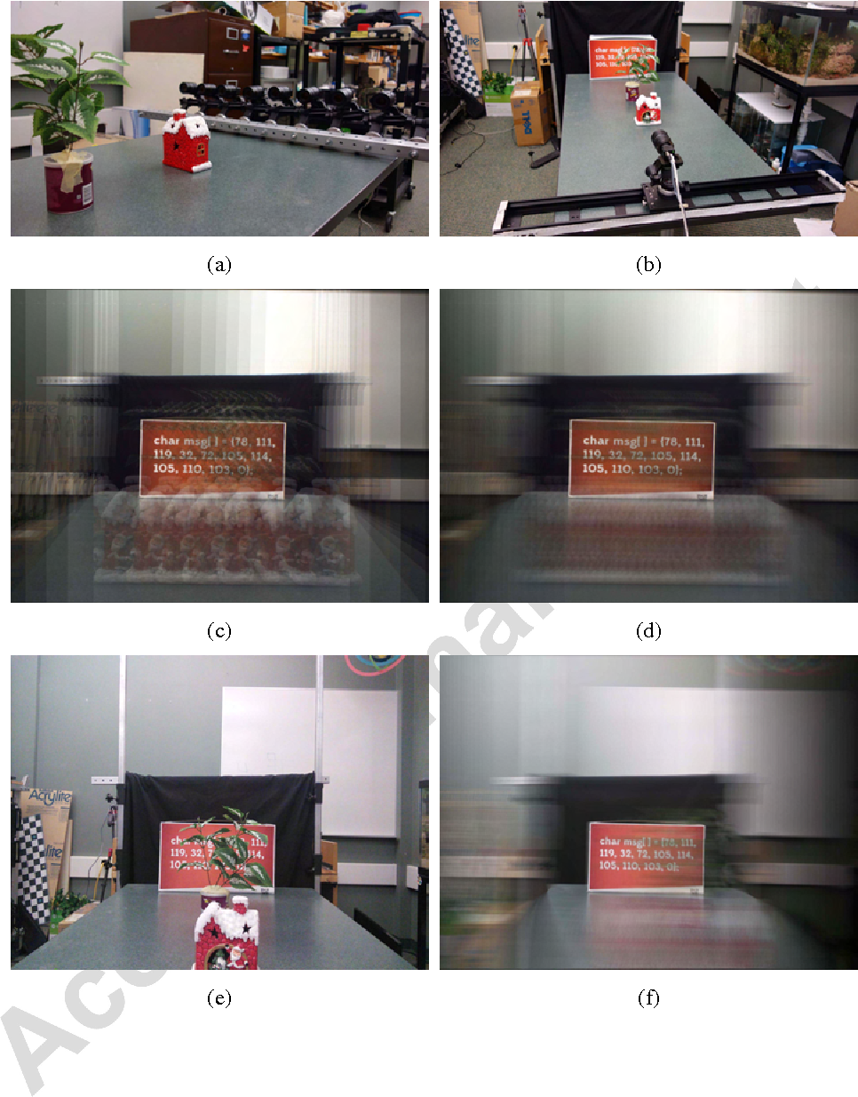 Figure 11 from Synthetic aperture photography using a moving camera