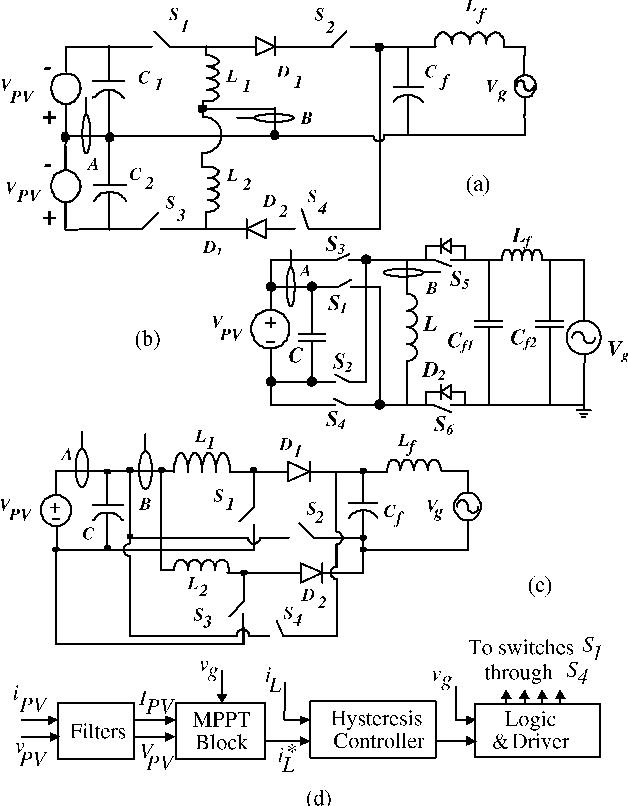 One Single Line Diagram Inverter