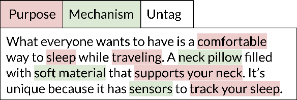 Figure 2 for Scaling Creative Inspiration with Fine-Grained Functional Facets of Product Ideas