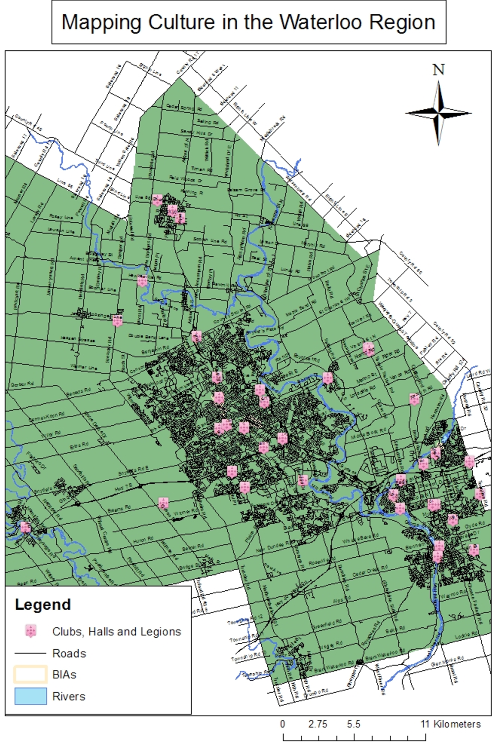 PDF] Mapping Culture in the Waterloo Region: Exploring