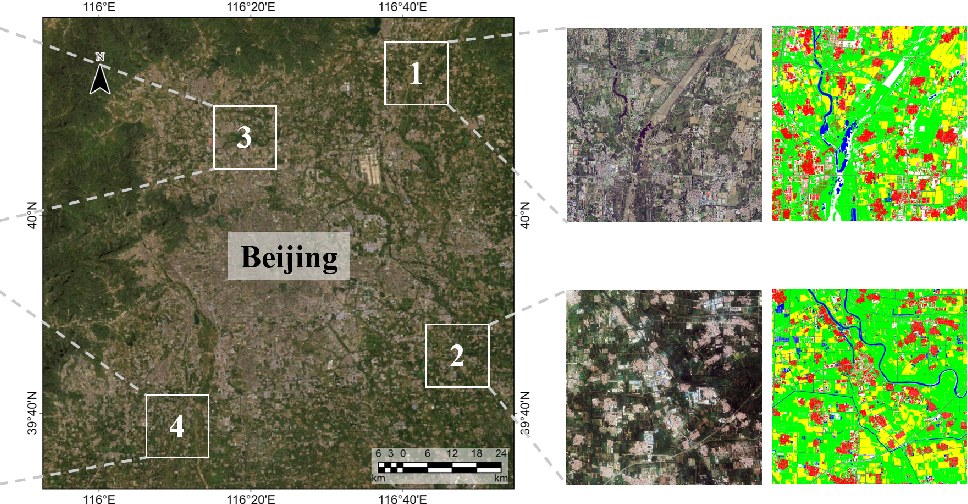 Figure 3 for Looking Outside the Window: Wide-Context Transformer for the Semantic Segmentation of High-Resolution Remote Sensing Images