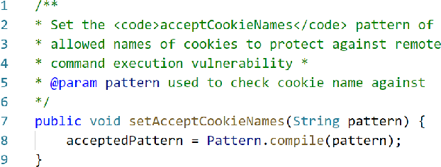 Figure 1 for Exploiting Token and Path-based Representations of Code for Identifying Security-Relevant Commits