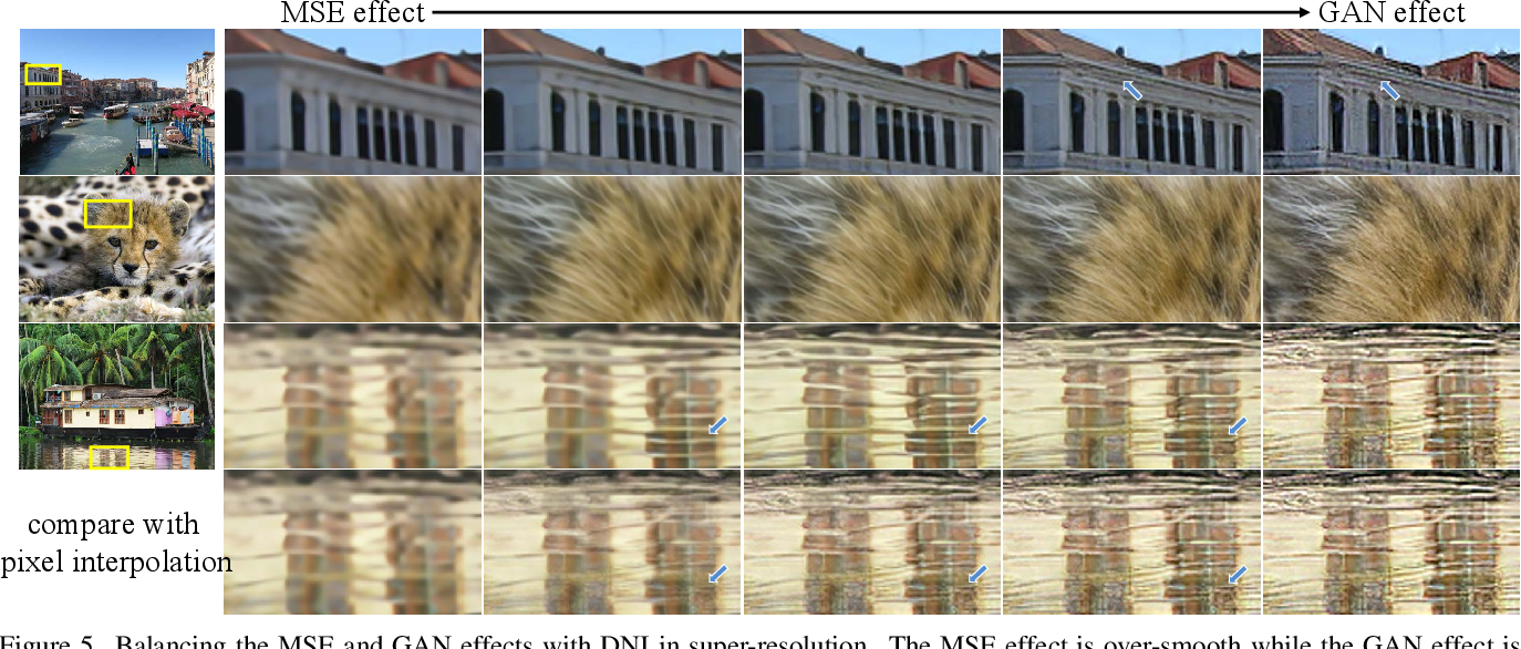 Figure 4 for Deep Network Interpolation for Continuous Imagery Effect Transition