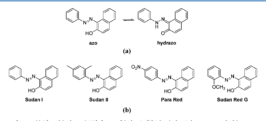 Figure 1 from On the azo/hydrazo equilibrium in Sudan I azo