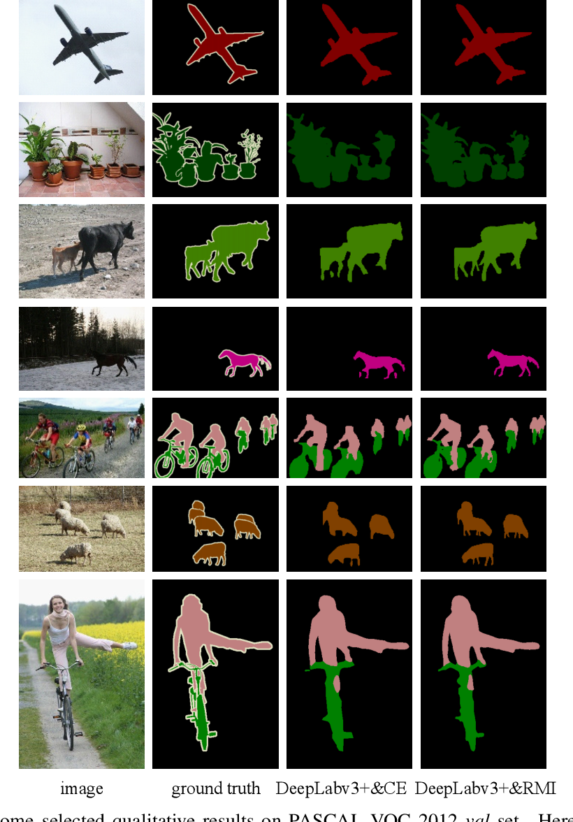 Figure 4 for Region Mutual Information Loss for Semantic Segmentation
