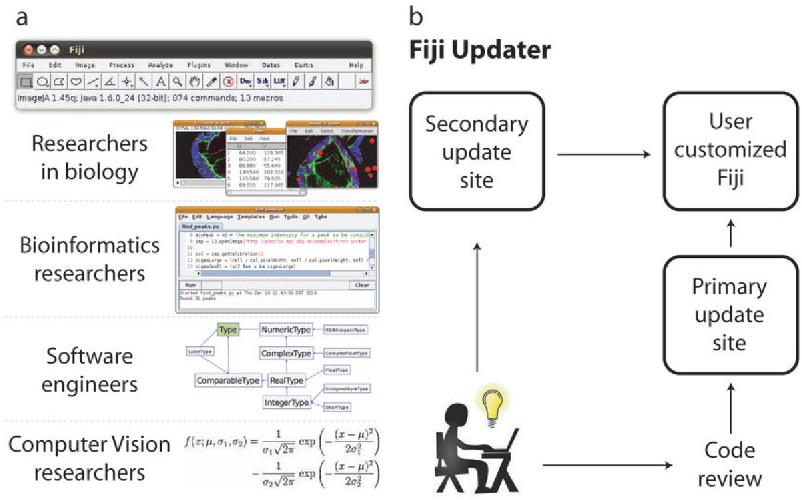 Figure 1 from Fiji: an open-source platform for biological-image