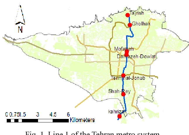 Tehran Subway Map.Figure 1 From Concentrations In Underground And Ground Level