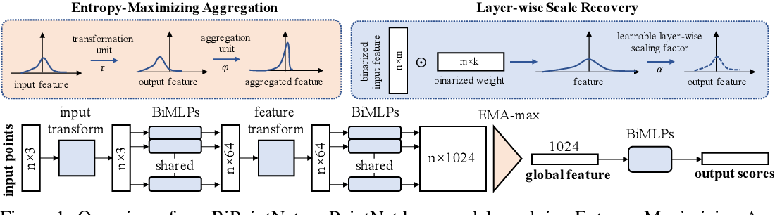 Figure 1 for BiPointNet: Binary Neural Network for Point Clouds