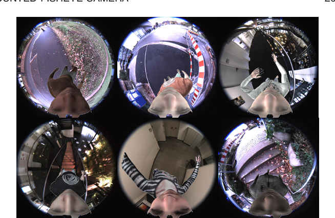 Figure 3 for Mo2Cap2: Real-time Mobile 3D Motion Capture with a Cap-mounted Fisheye Camera