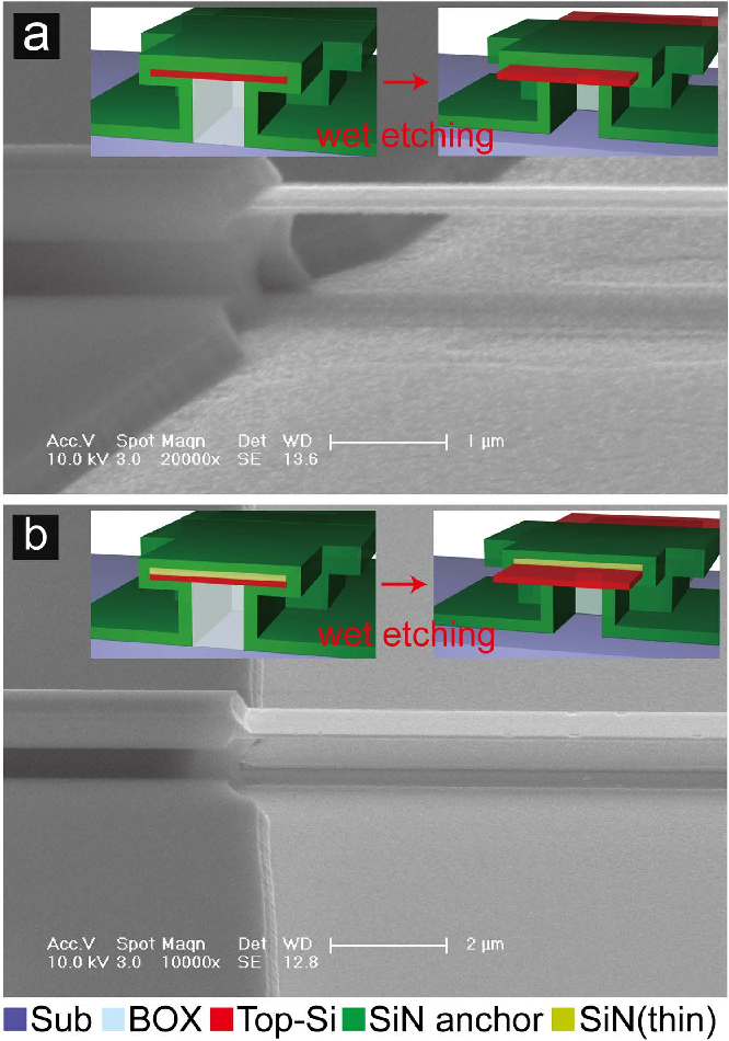 Figure 1 from Attogram mass sensing based on silicon microbeam