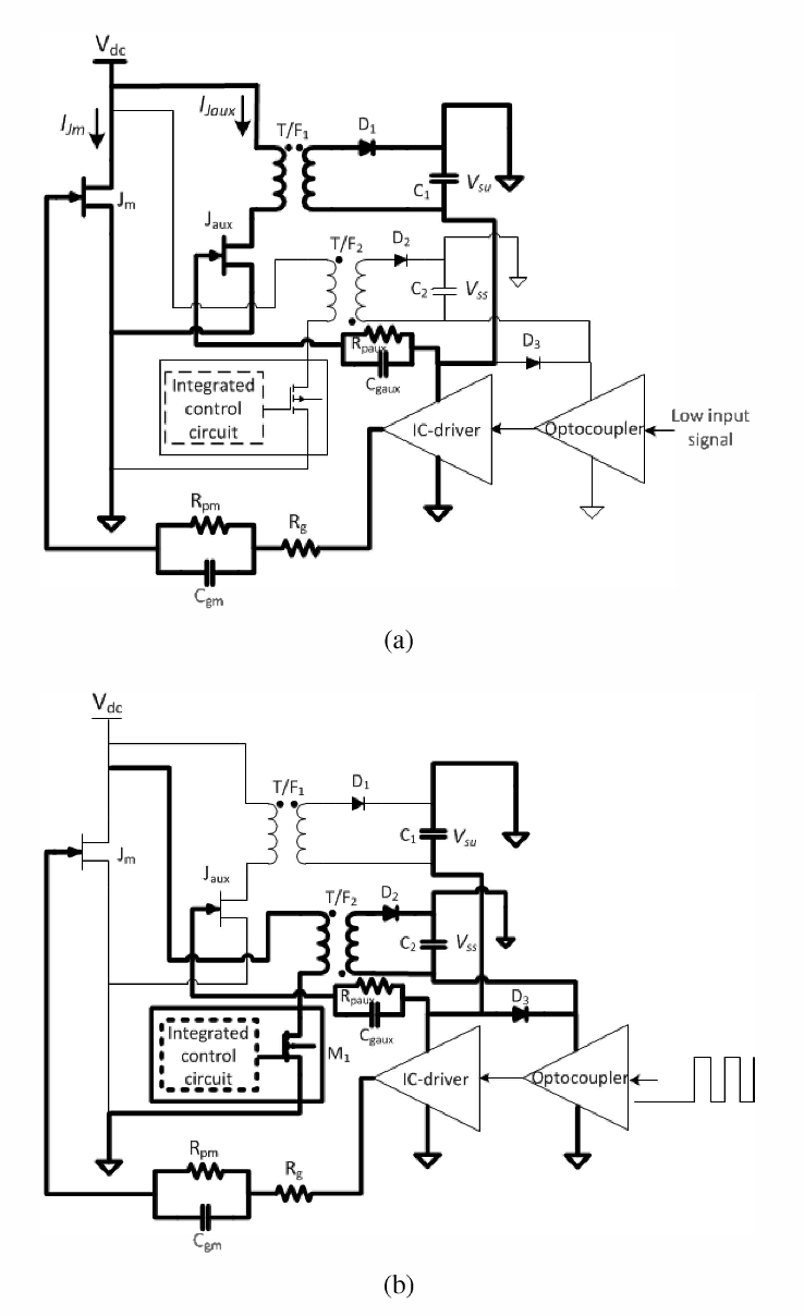 Design considerations for a self-powered gate driver for normally-ON