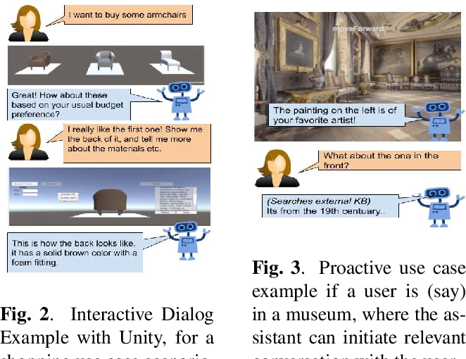 Figure 2 for SIMMC: Situated Interactive Multi-Modal Conversational Data Collection And Evaluation Platform