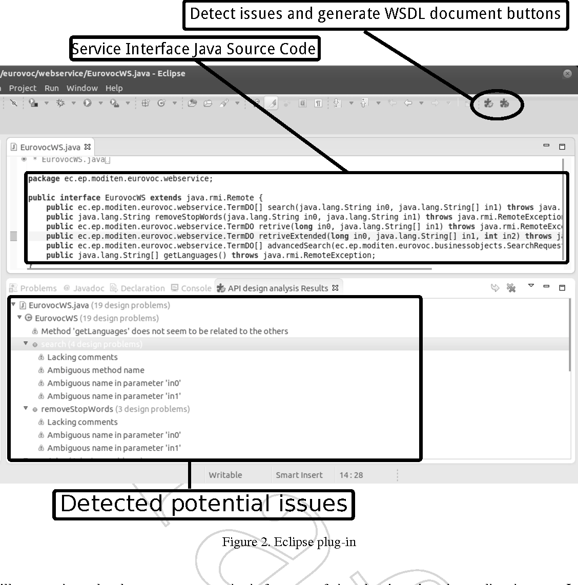 A tool to improve code-first Web services discoverability through