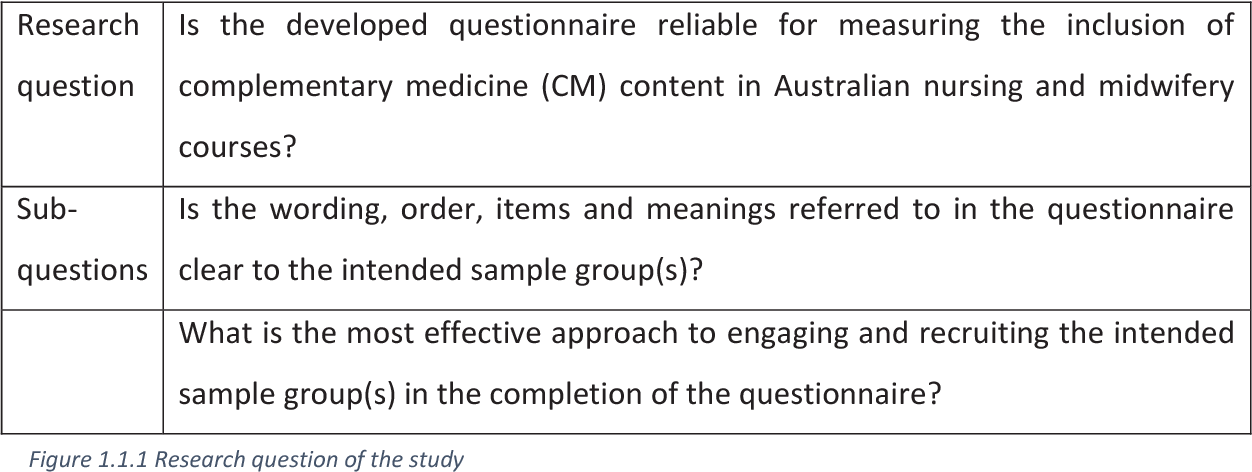 PDF] The inclusion of complementary medicine in Australian