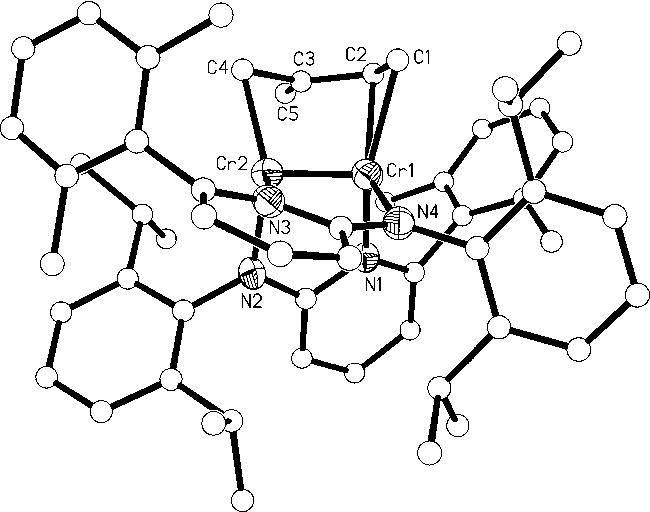 Cycloaddition Reactions Of A Chromium Chromium Quintuple Bond