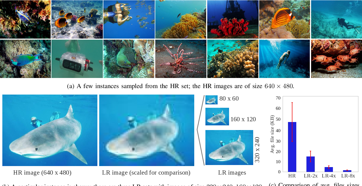 Figure 2 for Underwater Image Super-Resolution using Deep Residual Multipliers