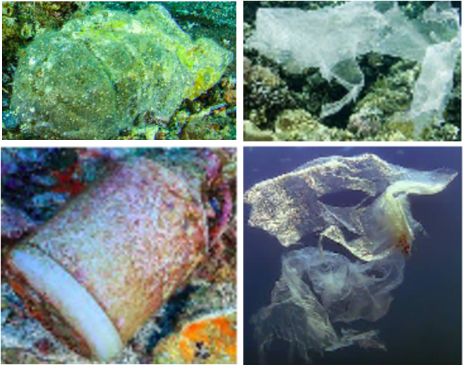 Figure 1 for A Generative Approach Towards Improved Robotic Detection of Marine Litter